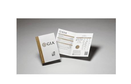 GIA - Zertifikat
