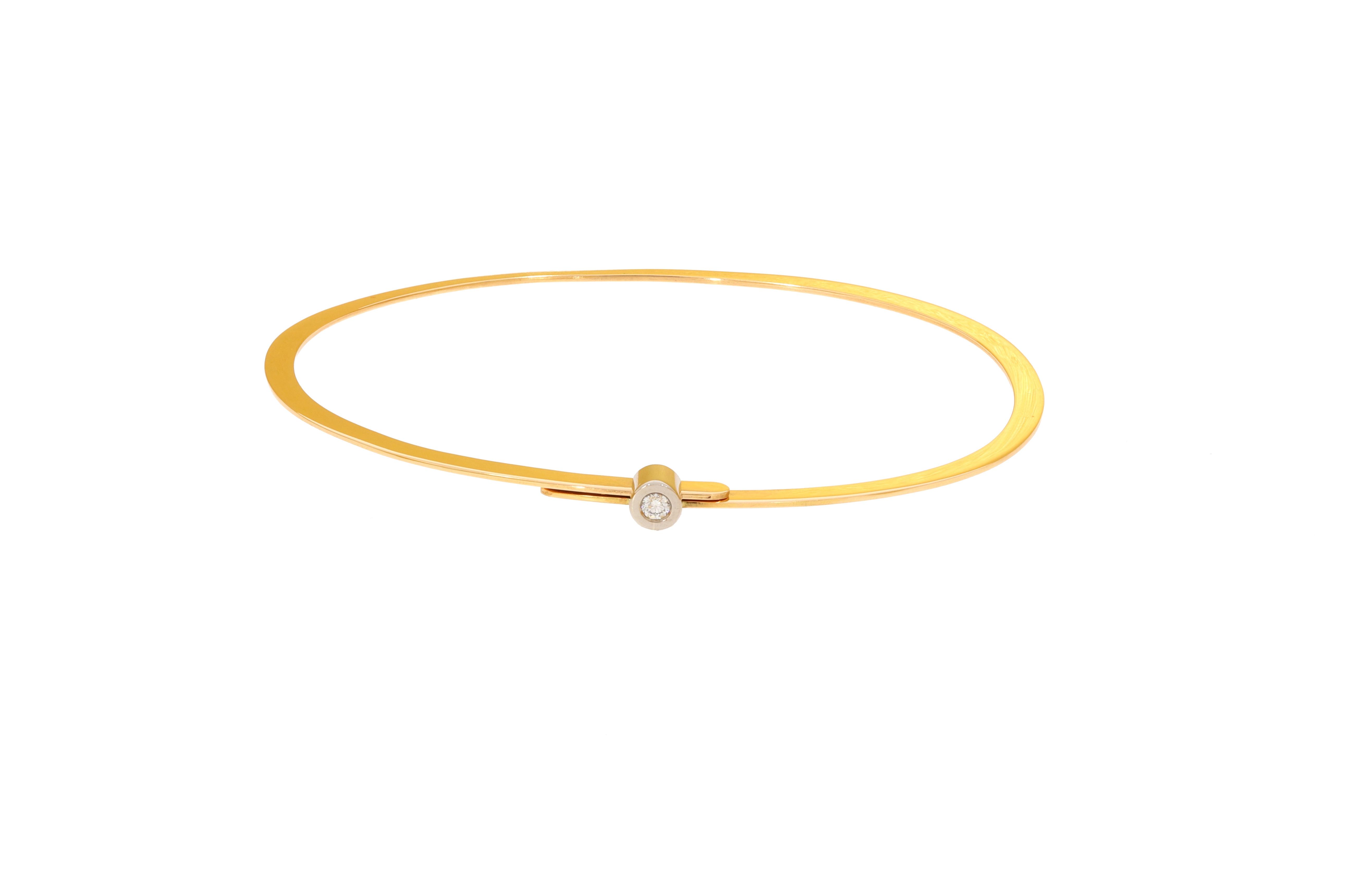 750/- Roségold und Weißgold mit Brillant 0,05 ct. tw-vsi ca. € 1.530,-