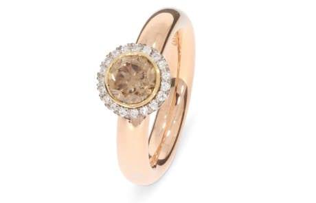 brillantring-18k-rosegold-brauner-brillant